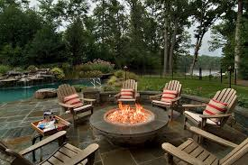 Backyard Campfire Backyard Fire Pit Ideas With Simple Design