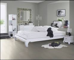 gray floors and white furniture looks http