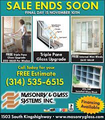 st louis replacement windows u0026 doors glass blocks glass
