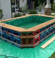 pool fã r balkon here s an idea on how to make a makeshift swimming pool using
