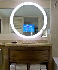 trinity lighted mirror tv electric mirror