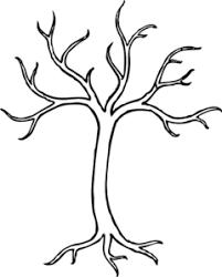 winter tree clip at clker vector clip