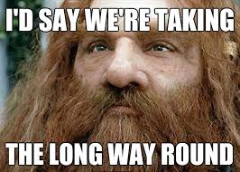 Getting Lost Meme - getting lost up humming a running blog