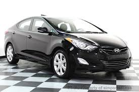 2013 hyundai elantra black 2013 used hyundai elantra elantra limited sedan at eimports4less