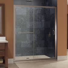 Bathroom Shower Door Ideas Bathroom Chic Dreamline Enigma Z Fully Frameless Shower Door By