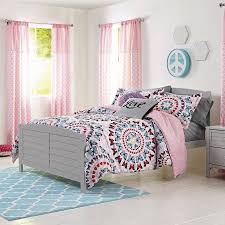 better homes and gardens kids butterfly circles medallion bedding
