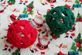 happier than a pig in mud crochet granny square ornament covers
