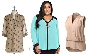 plus size blouses for work trendy plus size clothes