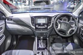 triton mitsubishi 2016 mitsubishi triton limited edition dashboard at 2016 bims indian