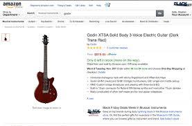 amazon black friday deals guitars its godin sale season at amazon com