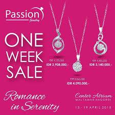 harga cincin jewelry jewellery one week sale gebyar diskon harga spesial