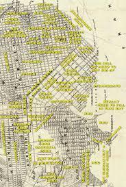 Map San Francisco by Judgemental Map Of San Francisco 1860s Edition Burrito Justice
