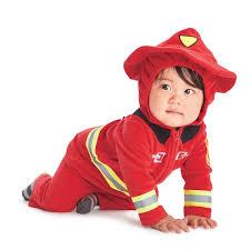 carter u0027s fleece firefighter costume