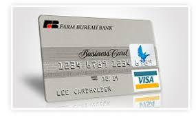 Farm Business Card Farmbureaubank Com Farm Bureau Bank Premier Business Card Center