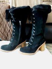 ugg womens josie heeled boots stout ugg australia high 3 in and up heel suede boots for ebay