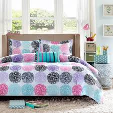 Girls Bed In A Bag Full Size by Shop Mizone Carly Purple Bed Linens The Home Decorating Company