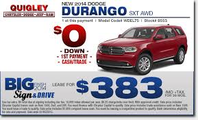 dodge durango lease dodge durango sales lease specials boyertown pa