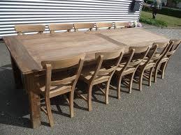teak table 280 x 100 cm reclaimed reclaimed teak furniture