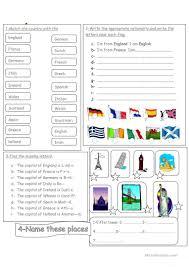 Logo Quiz World Flags 60 Free Esl Flags Worksheets