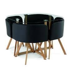 ensemble table chaises ensemble table 4 chaises encastrable achat vente pas cher