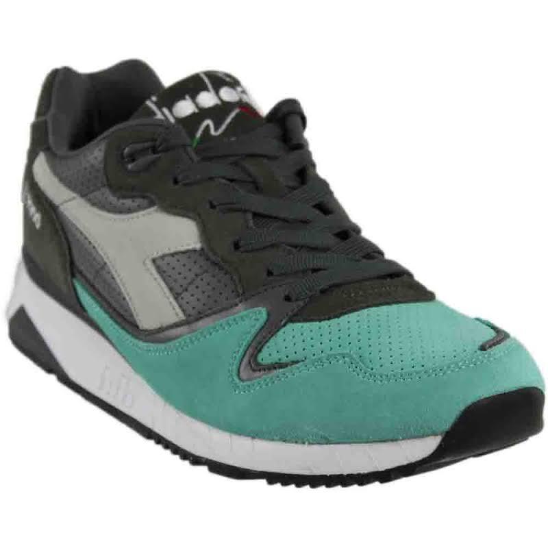Diadora V7000 Premium Running Shoes Grey- Mens