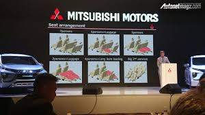 mitsubishi expander mitsubishi expander mpv unveiled seat configurations indian