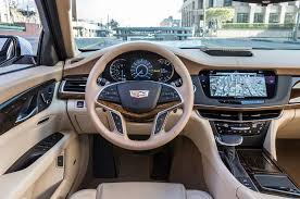 luxury cars inside 2016 cadillac ct6 review