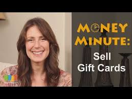 where can i sell gift cards in person money minute how to sell gift cards
