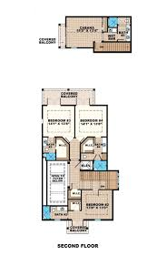 beach style house plan 5 beds 7 00 baths 4630 sq ft plan 27 486