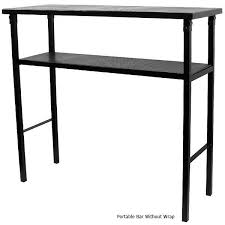 Black Bar Table Budweiser Portable Metal Bar Table With Carrying