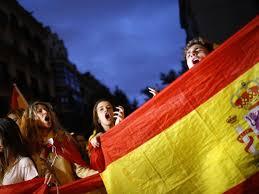spanien demos für den dialog katalonien krise hält spanien in