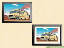 how to hang art prints without frames how to frame a poster with pictures wikihow