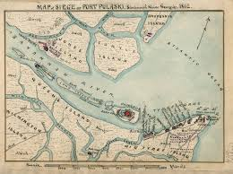 Savannah Ga Map Savannah In The Civil War 1861 1862