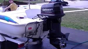 1996 larson flyer 166 johnson outboard 112hp v4 spl youtube