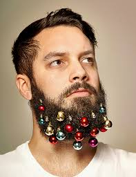 beard baubles tiny ornaments that can hang from their