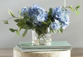 flower hydrangea beachcrest home hydrangea flower spray arrangement reviews wayfair