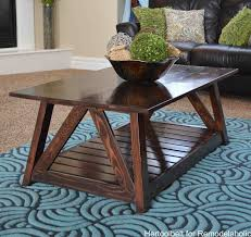 remodelaholic diy slat coffee table