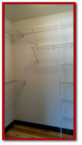 metal wire shelving the closet company green bay wisconsin