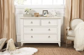 Million Dollar Furniture by Emma Regency 4 Drawer Dresser In Warm White Million Dollar Baby