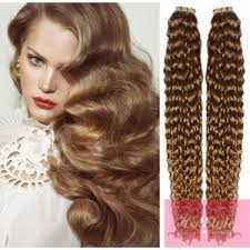 24 inch hair extensions 24 60cm hair in human remy hair curly light brown