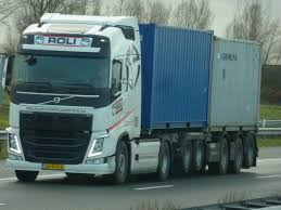 volvo trucks holland volvo fh roli container logistics holland transport in movement