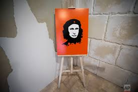 Che Guevara Flag Che Guevara U0027s Face Lives On Fifty Years After Death U2014 Ap Images