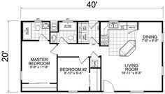 small floor plan 20 x 40 800 square floor plan search small house