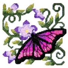 butterfly6 cross stitch butterfly machine embroidery design
