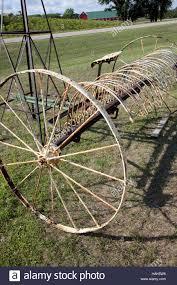 the old hay rake stock photos u0026 the old hay rake stock images alamy