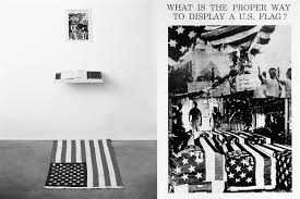 Hatis Flag 10 Reimaginations Of The American Flag In Art Sleek Mag