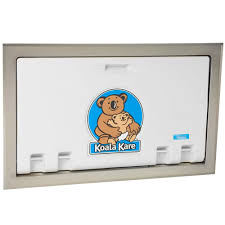 Mounted Changing Table by Koala Kare Kb100 05st Horizontal Recessed Mounted Baby Changing
