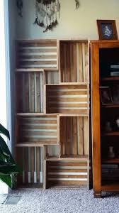 Crates For Bookshelves - how to make a bookshelf crates wooden crates and apartments
