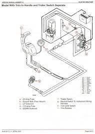 mercury outboard tilt trim wiring diagram 4 way mercruiser tilt