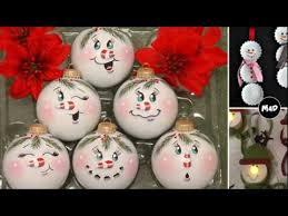 handmade ornaments snowman ornaments